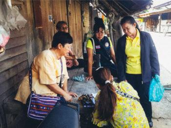โครงการ หลักสูตรการพัฒนาพื้นที่สุขภาวะชุมชน